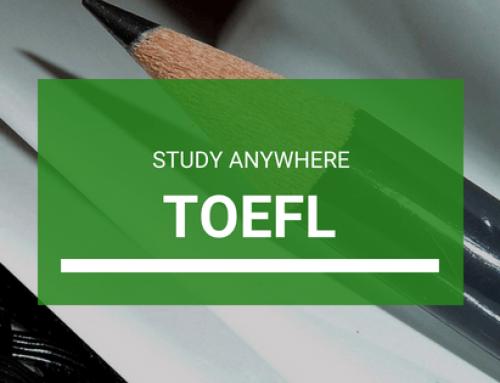 TOEFL – Be Anything, Study Anywhere