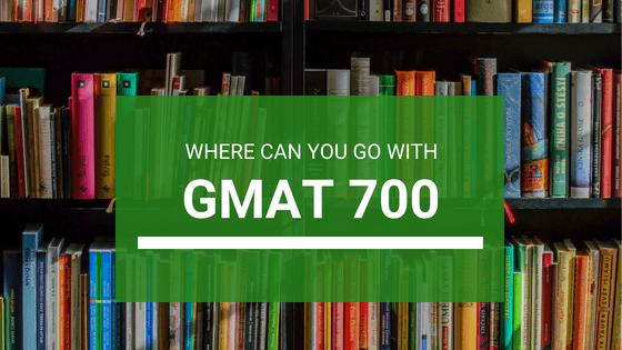 GMAT Score 700