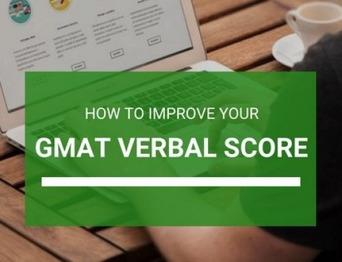 How can you improve your verbal score on GMAT?