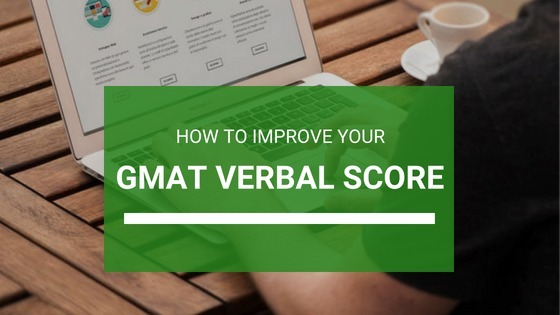 how to improve verbal score in gmat