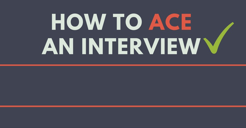 How to ace interview with university representative