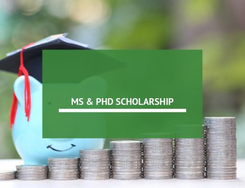How To Get An MS & Phd Scholarship
