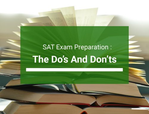 Preparing for SAT: The Do's and Don'ts