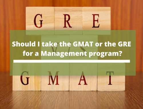 Should I take the GMAT or the GRE for a Management program?