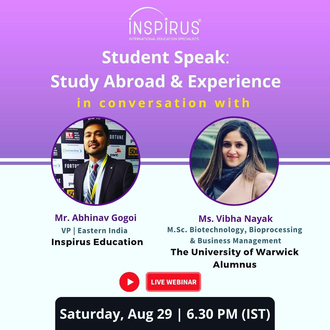 Alumni Talk Study Abroad & Experience