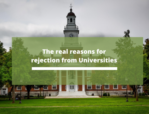 The real reasons for rejection from Universities