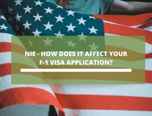 NIE – How does it affect your F-1 Visa application?